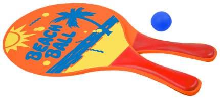 Набор для игры в пляжный пинг-понг (2 ракетки, мячик)