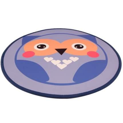 Коврик для кошек и собак Bobo, полиэстер, резина, синий, 60x60 см