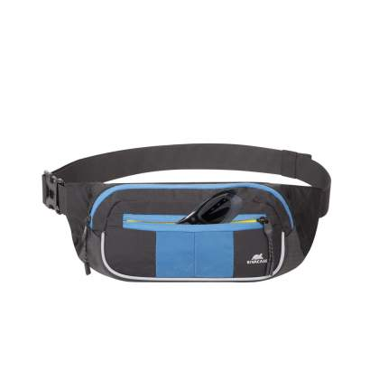 RIVACASE 5215 black/blue поясная сумка для мобильных устройств