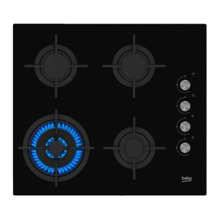 Встраиваемая газовая панель Beko HILW 64122 S Black