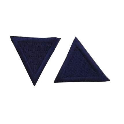 """Термоаппликация """"Треугольник"""" 2х2см Hobby&Pro, 2шт/упак"""