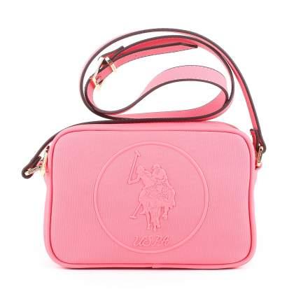 Сумка женская Us Polo Assn. U1718 розовая