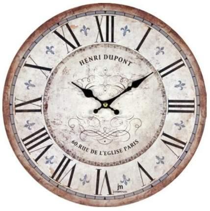 Настенные часы Lowell 33 см 21432