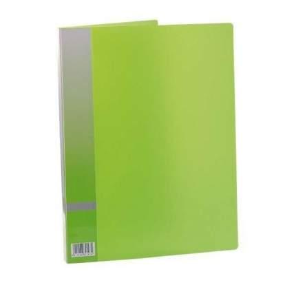 Папка с прижимным механизмом, ф. А4, зеленый, материал PP, вместимость 120 листов|2