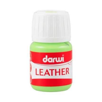 Краска LEATHER для кожи / кожзама, 30 мл Darwi 7716284_00008 зеленый