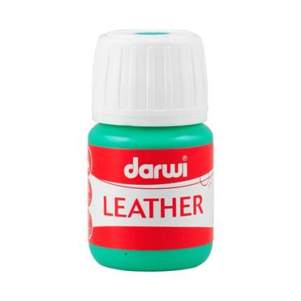 Краска LEATHER для кожи / кожзама, 30 мл Darwi 7716284_00009 зеленый