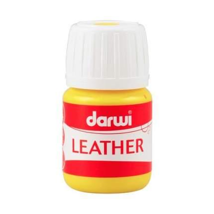 Краска LEATHER для кожи / кожзама, 30 мл Darwi 7716284_00010 желтый
