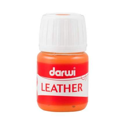 Краска LEATHER для кожи / кожзама, 30 мл Darwi 7716284_00011 оранжевый