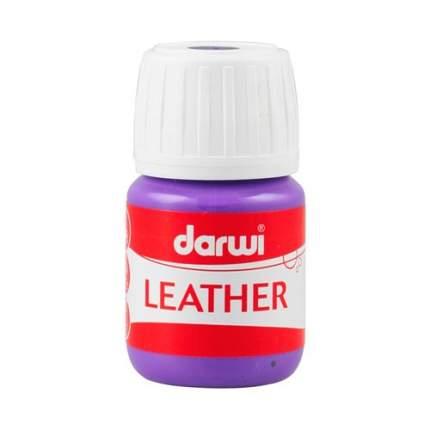 Краска LEATHER для кожи / кожзама, 30 мл Darwi 7716284_00013 фиолетовый