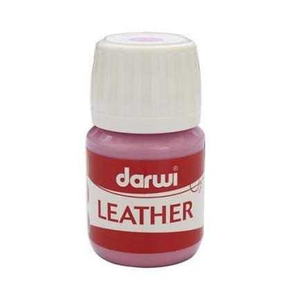 Краска LEATHER для кожи / кожзама, 30 мл Darwi 7716284_00015 розовый