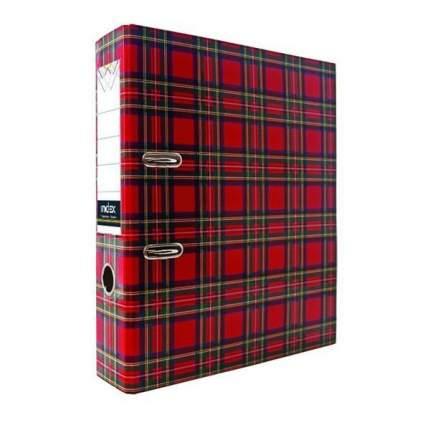 Папка-регистратор 50 мм, ламинированная, шотландка