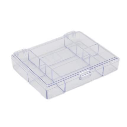 Органайзер для хранения мелочей с 7 отделениями, 11.8x9.1x2.1см Hobby&Pro 930520