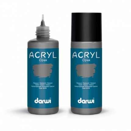 Акриловая краска непрозрачная OPAK Darwi, 80мл 472005_00018 серый