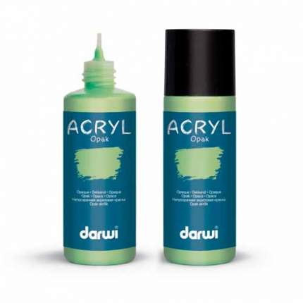 Акриловая краска непрозрачная OPAK Darwi, 80мл 472005_00021 зеленый
