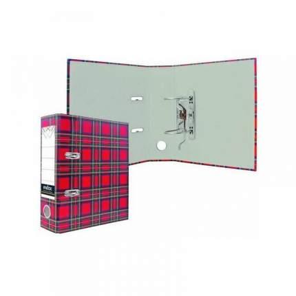 Папка-регистратор 80 мм, разм. 250х210мм, Шотландка|2