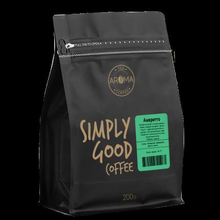 "Кофе Aroma ""Амаретто"", арабика в зёрнах, 200 гр"