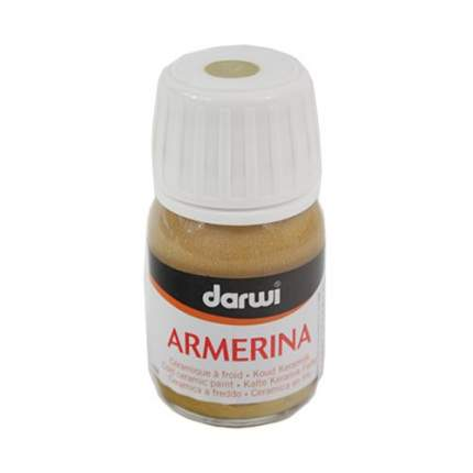 Акриловая краска ARMERINA металл. для керамики Darwi, 30 мл 472019_00001  золотой