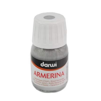 Акриловая краска ARMERINA металл. для керамики Darwi, 30 мл 472019_00002 серебристый