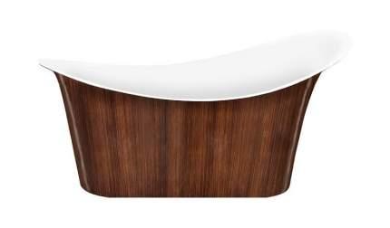Акриловая ванна Lagard TIFFANY Brown Wood 175х82 см