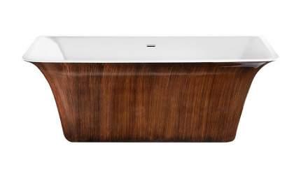 Акриловая ванна Lagard EVORA Brown Wood 160х77 см