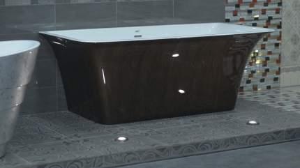 Акриловая ванна Lagard EVORA Black Agate 160х77 см