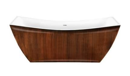 Акриловая ванна Lagard ISSA Brown Wood 178х75 см