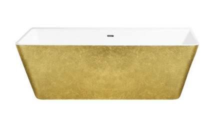 Акриловая ванна Lagard VELA Treasure Gold 168х80 см