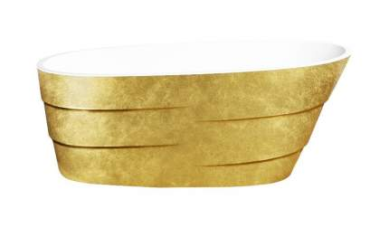 Акриловая ванна Lagard AUGUSTE Treasure Gold 170х75 см