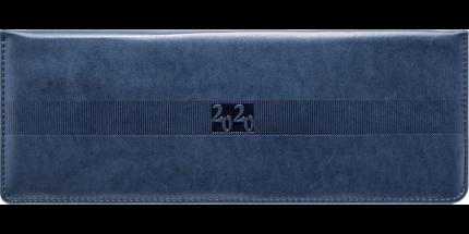 Планинг Avanti, датир.,2020, скрытая евроспираль, 128с., ф.290х105мм, синий