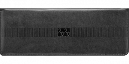 Планинг Avanti, датир.,2020, скрытая евроспираль, 128с., ф.290х105мм, черный