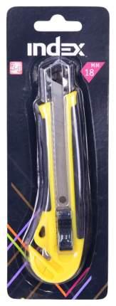 Резак канцелярский, 18 mm, с резиновой накладкой, с дополнительным ножом, в блистере