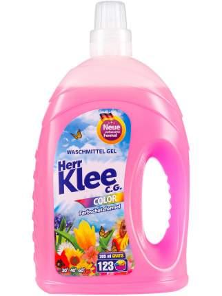 Гель для стирки Herr Klee Color для цветного белья 123 стирки Германия 4305 мл