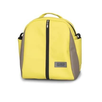 Коляска 2 в 1 Riko Basic Ozon Ecco 26 лимонный-бежевый