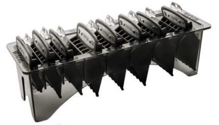 Комплект насадок Wahl Premium от 3 до 25 мм на подставке, черный