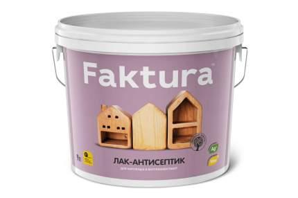 Лак-антисептик FAKTURA орегон, ведро 9 л