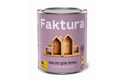 Масло FAKTURA для террас, банка 0,7 л