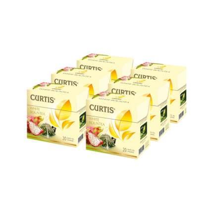 "Чай Curtis ""White Bountea"", белый с добавками, 20 пирамидок х 6 упаковок"