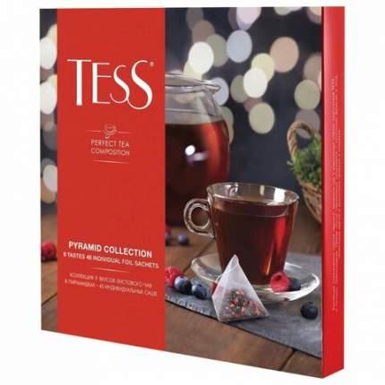 Чай TESS (Тесс), НАБОР 45 пирамидок (9 видов по 5 шт.), 82 г, картонная коробка, 1184-11
