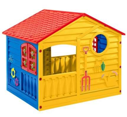 Игровой домик PALPLAY Красный/синий/желтый