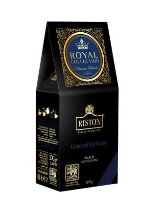 Чай Riston Royal Collection Gourmet Earl Grey черный среднелистовой 100г
