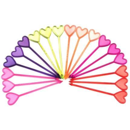 Пики Rioba декоративные Сердце, 250 шт,