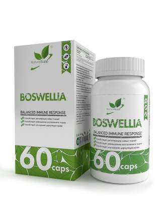 Босвеллия NaturalSupp Boswellia 500 мг капсулы 60 шт.