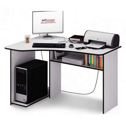 Компьютерный стол МФ Мастер Триан, белый