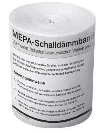 MEPA Звукоизоляционная лента Mepa Duschrinne 180030