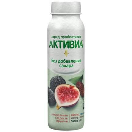 Питьевой йогурт Активиа яблоко-чернослив-инжир-финик 2% 260 г