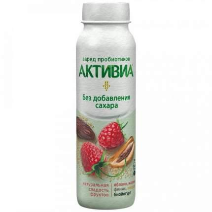 Питьевой йогурт Активиа яблоко-малина-финик-амарант 2% 260 г