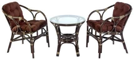 Набор садовой мебели Экодизайн Terrace Set 11/05 Б brown 3 предмета