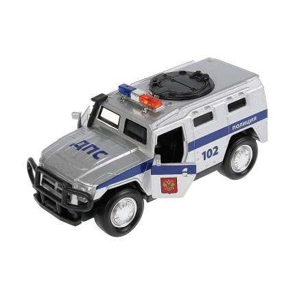 Машина инерционная Бронемашина Полиция 12 см