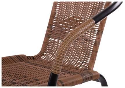Набор садовой мебели Экодизайн Bistro 220021+220020 black; brown 3 предмета