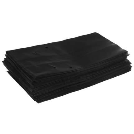 Пакеты для рассады 0,5 л, 17х15 см с отверстием, пленка плотность 100 мкм, 20 шт.